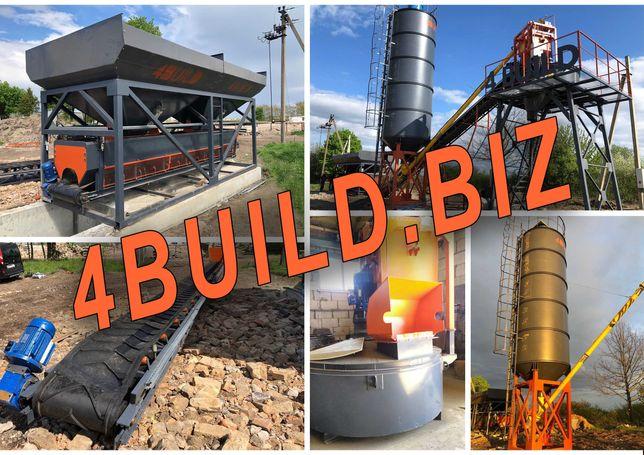 РБУ, БЗУ, ЖБИ, растворобетонный узел, узел для ЖБИ, бетонный завод