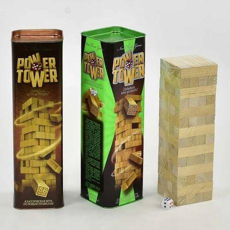 Игра настольная Башня Дженга Power Tower PT-01 Danko toys Данко тойс