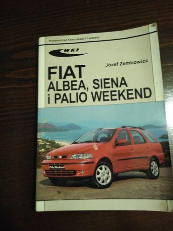 Książka Fiat Albea Siena , Palio weekend stan dobry