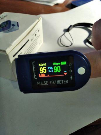 Пульсометр оксиметром на палец (пульсоксиметр)