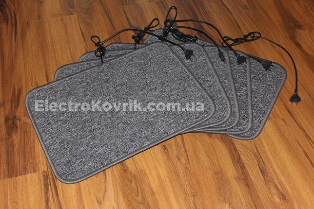Теплый инфракрасный коврик 40х55 см с подогревом, грелка