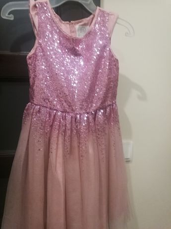 Sukienka z bolerkiem 128-134