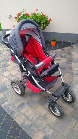 Wózek dziecięcy lekki - aluminiowa rama