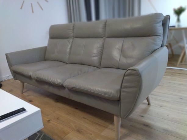 Sofa 3-osobowa + fotel