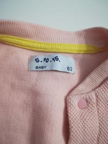 sweter kardigan różowy rozm 62