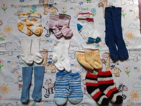 Носочки 6-12 гольфы пакет лот одежда носки