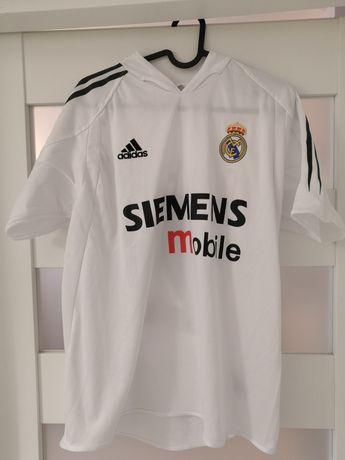 REAL MADRYT 03/04 Koszulka piłkarska BECKHAM