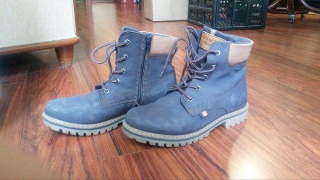 Buty zimowe kozaczki skórzane Lasocki Young 34
