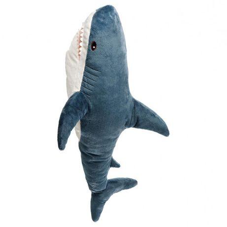 М'яка іграшка IKEA BLAHAJ акула
