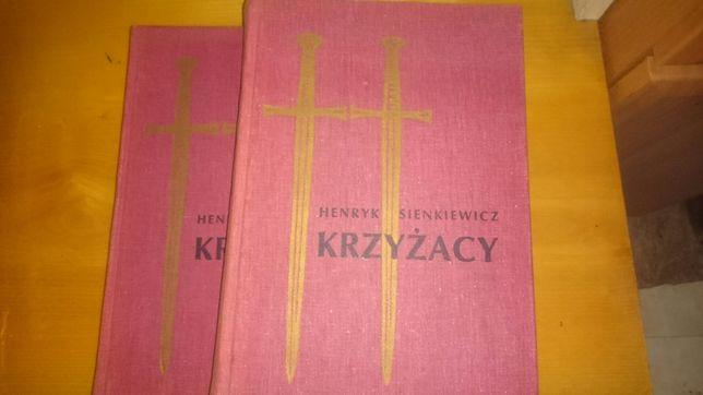 Krzyżacy Henryk Sienkiewicz 2 tomy