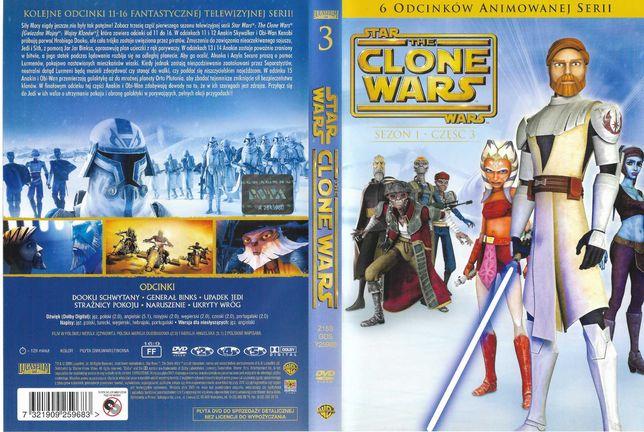 Film DVD Wojny Klonów