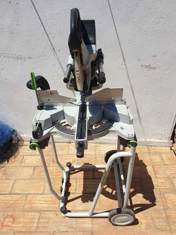 FESTOOL KS 120 EB + supporte UG KAPEX tracçadeira de chanfros