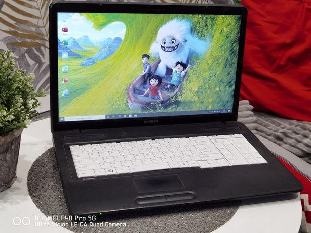 Toshiba 17.3 cala, Dysk 500GB, Windows 10, Office, Kamera