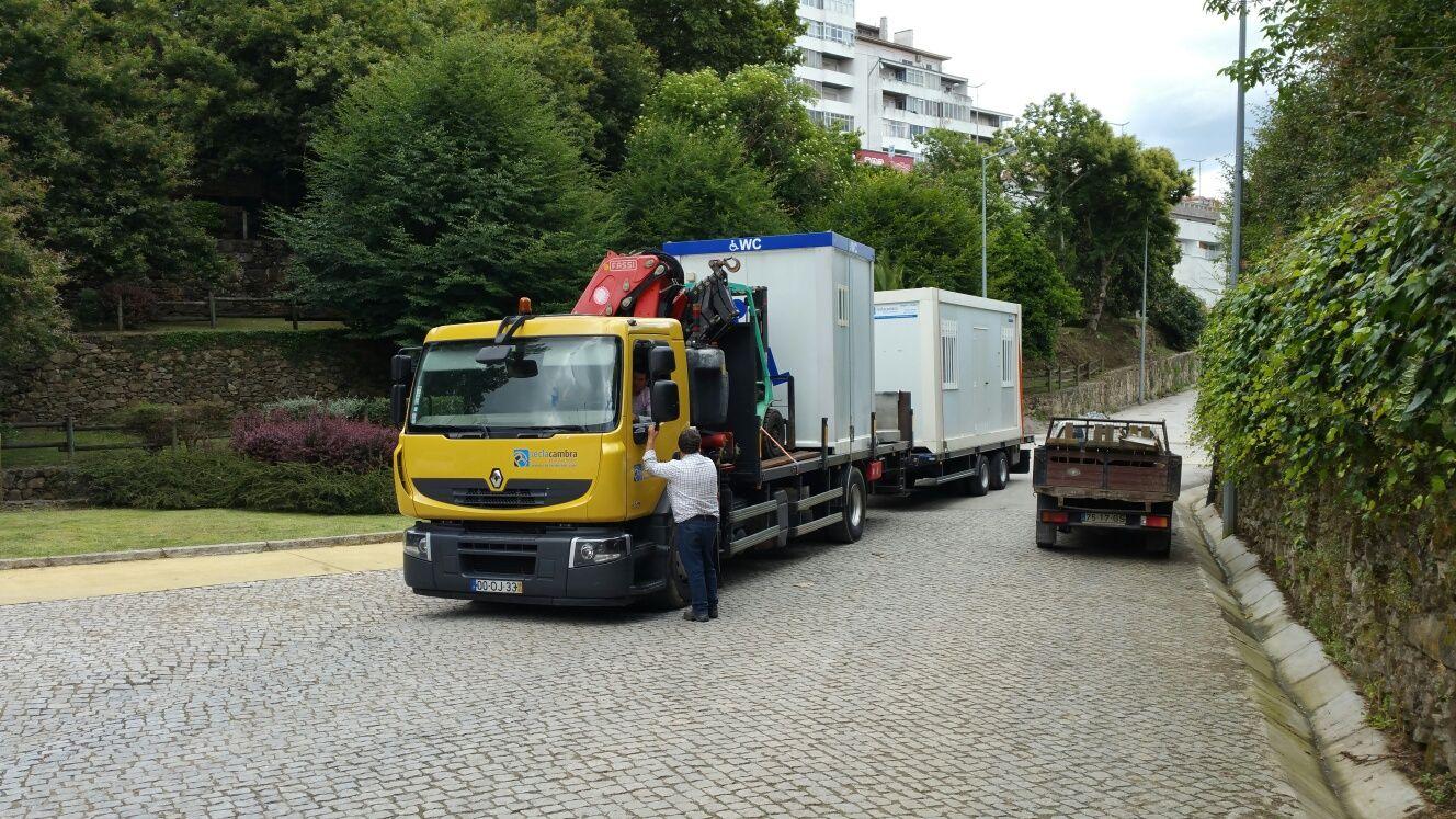 Camião Grua Aluguer