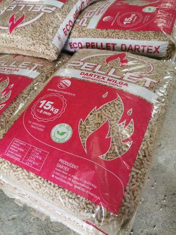 Pellet sosnowy PRODUCENT Dartex TRANSPORT gratis