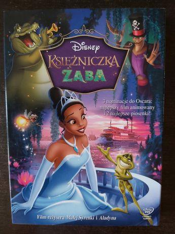 Księżniczka i żaba- film Disneya DVD