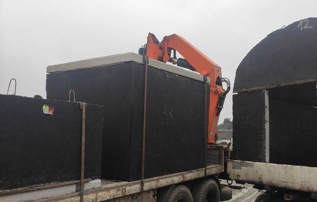 Zbiornik betonowy na gnojowicę szambo deszczówkę szamba 10 kubików m3