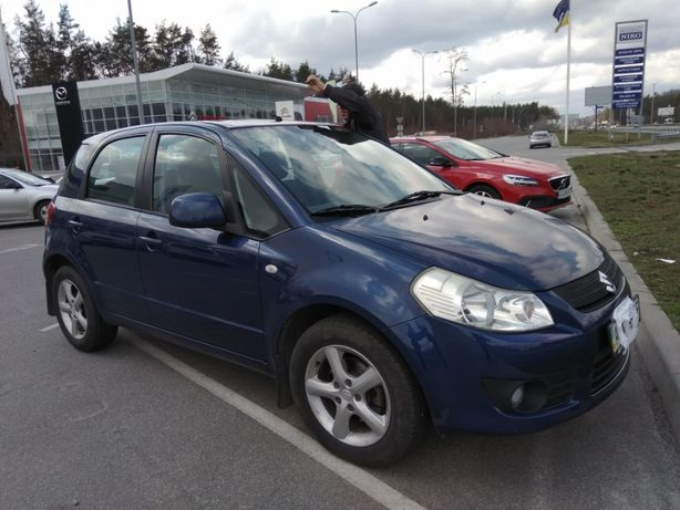Suzuki SX4, синий, 104тыс, 107к.с., 1,6л, 2008г.в, ездит с 09/2009