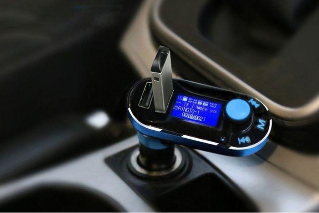 TRANSMITER BLUETOOTH FM 2xUSB MP3 ładowarka zestaw głośnomówiący
