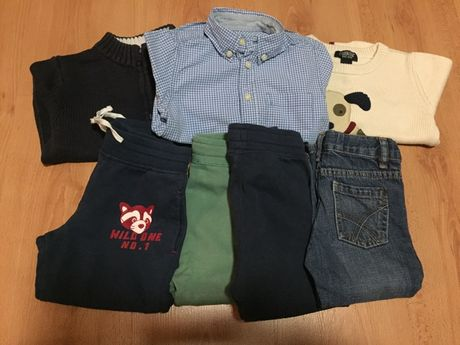 H&M spodnie koszula sweterek 92
