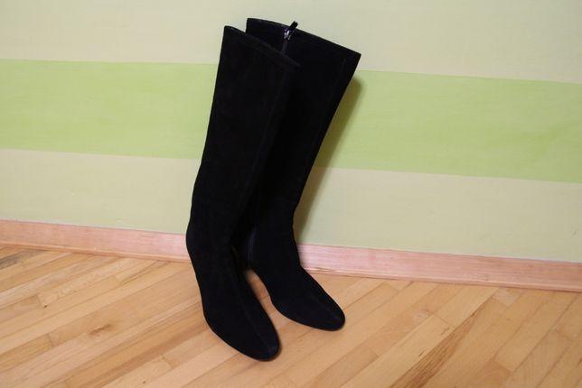 Gabbay итальянская бренд обувь сапоги 39 р зимние на овчине ,обуты раз