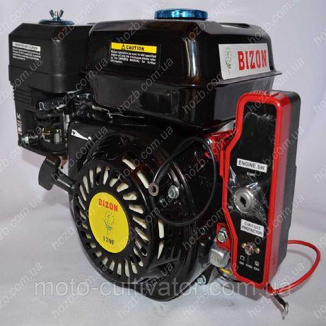 Двигатель бензиновый Бизон GX-220 170FE 7.5 л.с с электростартером