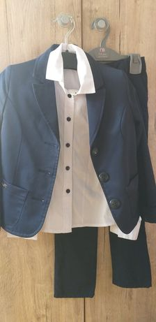 Школьная форма, пиджак, брюки, сарафан, рубашка, гольфы