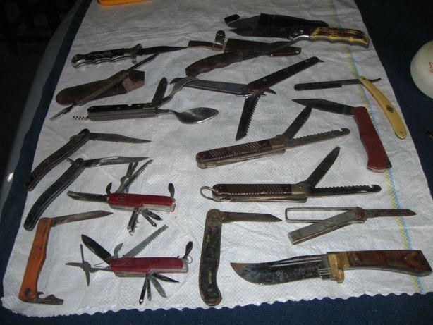 Ножи перочинные, опасная бритва