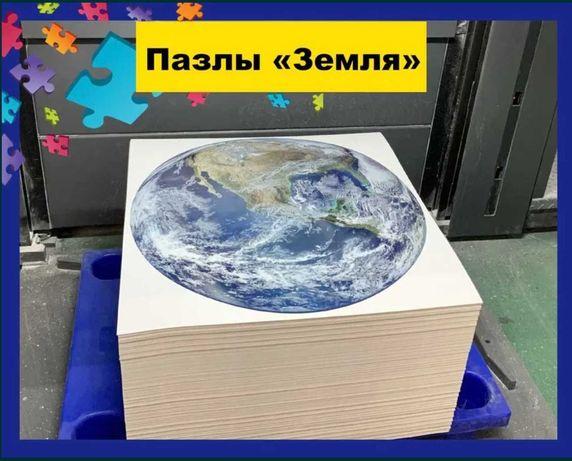 Пазлы (1000 элементов) Круглые пазлы земля