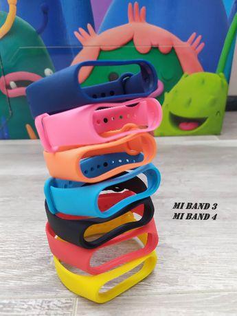 Ремешок браслет Xiaomi Mi Band 2, Mi Band 3, Mi Band 4, Mi Band 5