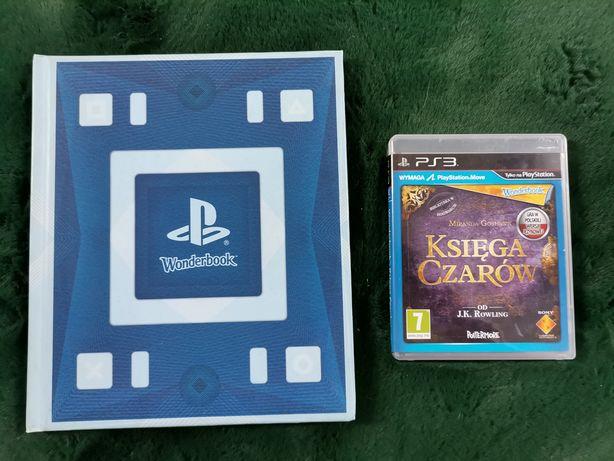 Gra księga czarów + wonderbook ps3 konsola PlayStation 3 move pl