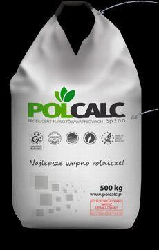 Wapno nawozowe granulowane POLCALC (kreda) Cena z Transportem