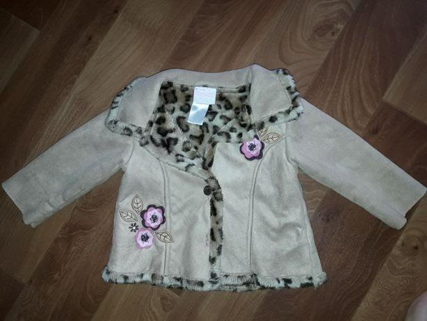 Пальто, пальтишко, дублёнка, маленькая, на 1-1.5, замеры! США