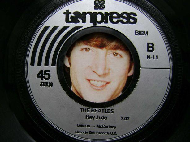 Starocie z PRL - Płyty winylowe = single The Beatles i Queen
