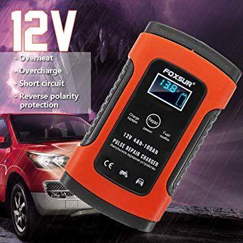 Зарядное устройство для авто цифровое интеллектуальное