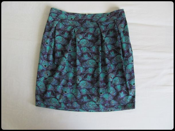 ZOUL spódnica kolorowa z zakładkami 40 L