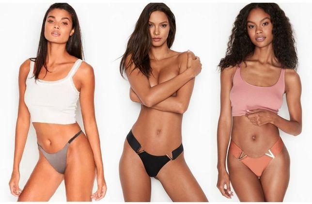 Эффектные сатиновые трусики Victorias Secret