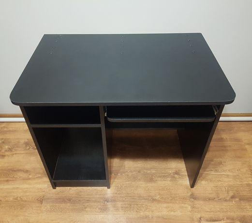 Biurko komputerowe czarne