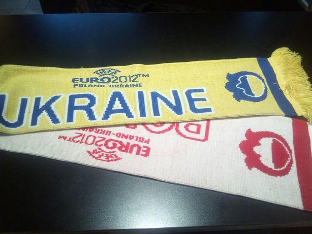 Разные футбольные шарфы