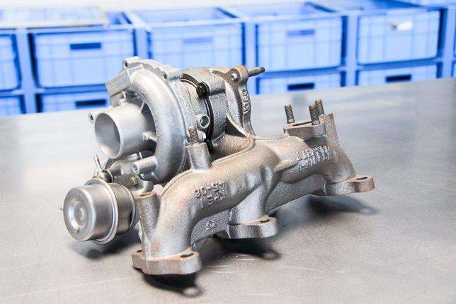 Turbosprężarka 2.0 D 136 Km 700#447 Regeneracja Bmw 318 D 320 D 520 D