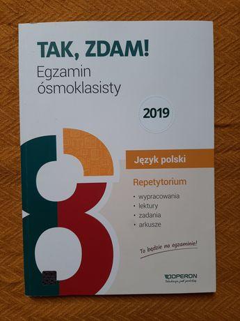 Tak, zdam! Repetytorium Język Polski