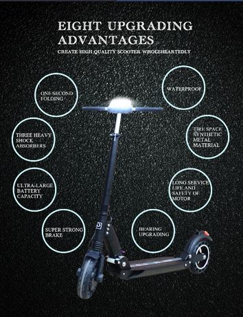 Электросамокат E-scooter от GT ( Kugoo S3 PRO )