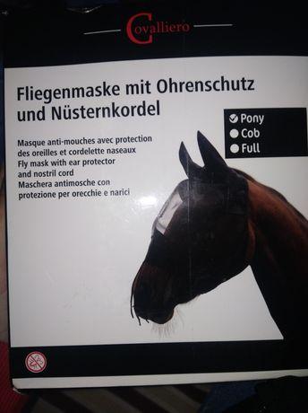 Maska przeciw owadom dla Konia Pony