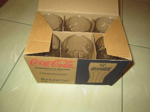 szklanki Coca Cola, zestaw szklanek Arcoroc