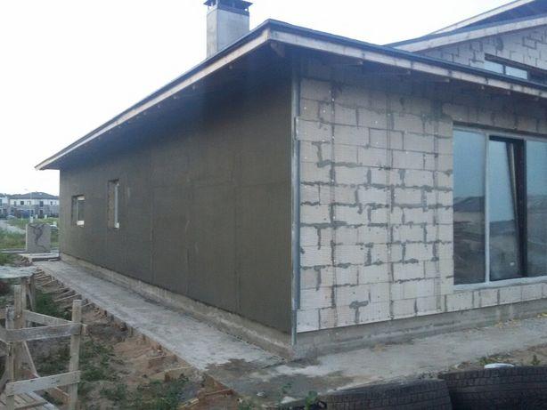 Строительные работы, стяжка, штукатурка, бетонные работы, заборы
