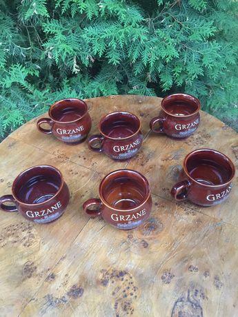6 ceramicznych kufli do piwa Starotorunskiego
