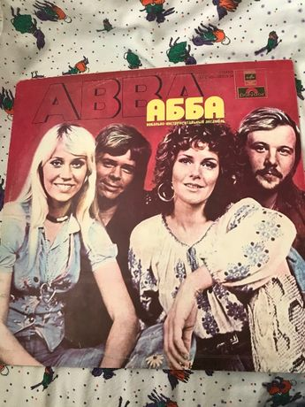 Виниловая поастинка ABBA