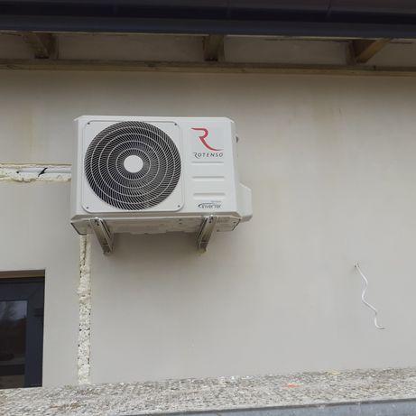 Powietrzna pompa ciepla-klimatyzacja