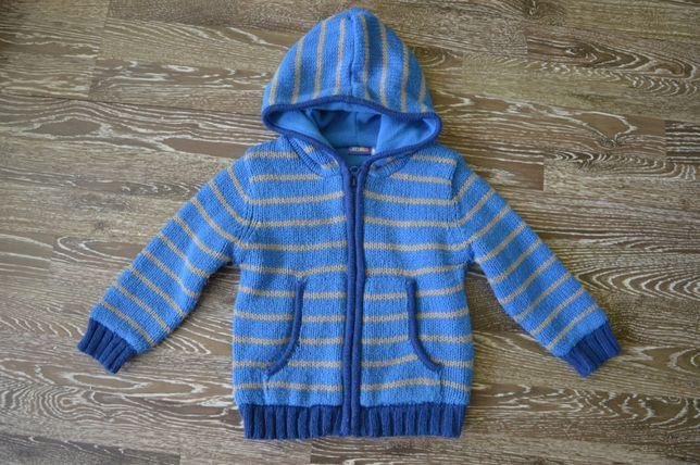 Wyprzedaż !!!Sweterek chłopięcy zimowy Lupilu 86/92 cm