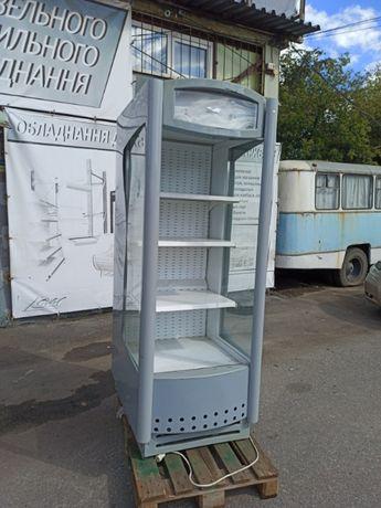 Регал холодильный Эверест бу,Горка холодильная бу, Стеллаж бу, витрина